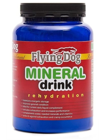 Flying dog_mineral juoma koirille